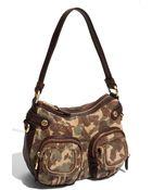 B. Makowsky Dina Zip Patch Pocket Leather Hobo - Lyst