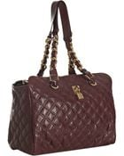Marc Jacobs Bordeaux Quilted Leather Anabela Chain Shoulder Bag - Lyst