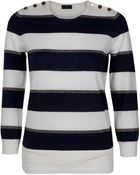 Joseph Sailor Striped Sweater - Lyst