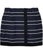 Proenza Schouler Baja Striped Tweed Wrap Skirt - Lyst