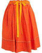 Dosa Pleated Skirt - Lyst