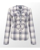 Ralph Lauren Dayne Ruffle Shirt - Lyst