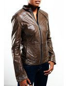 Beryll Leather Jacket - Lyst