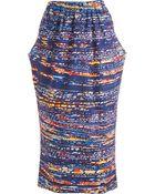 Zero + Maria Cornejo Mori Dress - Lyst