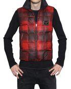 Dolce & Gabbana Reversible Nylon Vest Sport Jacket - Lyst