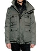 DSquared² Rabbit Nylon Vest Shiny Cotton Jacket - Lyst