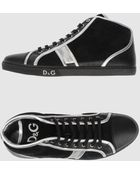 D&G High-top Sneaker - Lyst