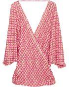 Missoni Mare Erice Crochet-knit Kaftan Top - Lyst