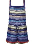 Missoni Knitted Playsuit - Lyst