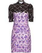 Eley Kishimoto Silk Shirt Dress - Lyst