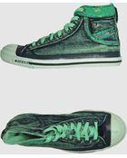 Diesel High-top Sneaker - Lyst