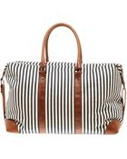 ASOS Collection Asos Ticking Stripe Holdall - Lyst