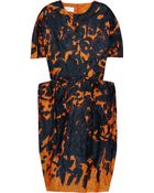 Cacharel Printed Cotton-blend Dress - Lyst
