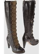 Pollini High Heeled Boots - Lyst