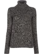 Burberry Polo Neck Sweater - Lyst
