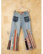 Free People Vintage Strawberry Fields Britannia Jeans - Lyst