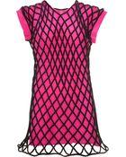 Balenciaga Resille Chain Dress - Lyst