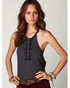 Free People Glitzy Party Tank - Lyst