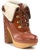Lucky Brand Tanner Lace-up Booties - Lyst