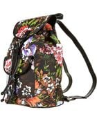 Topshop Tropical Print Backpack Bag - Lyst