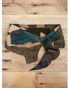 Free People Vintage Leather Patchwork Belt - Lyst
