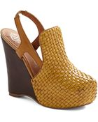 ModCloth Hello, Yellow Brick Road Wedge - Lyst