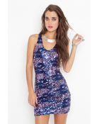 Nasty Gal Animalistic Sequin Dress - Lyst