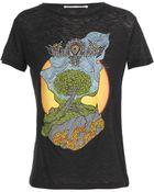 Proenza Schouler Printed Cotton T-shirt - Lyst