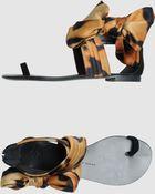 Giuseppe Zanotti Flat  Sandals - Lyst