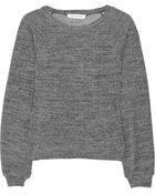 Etoile Isabel Marant Dory Cotton-jersey Sweater - Lyst