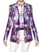Prabal Gurung Floral-Print Wool And Silk-Blend Blazer - Lyst