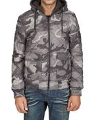 Dolce & Gabbana Camouflage Nylon Sport Jacket - Lyst
