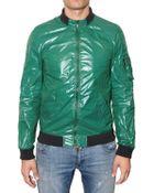 Dolce & Gabbana Shiny Nylon Sport Jacket - Lyst