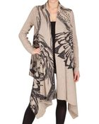 Horiyoshi The Third Wool Cashmere Knit Shawl Cardigan Sweater - Lyst