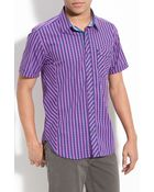 Ted Baker Check Woven Shirt - Lyst