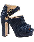 Bionda Castana 'Christa' Lattice Woven Shoe Boots - Lyst