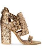 Givenchy Armor Glitter–embellished Sandals - Lyst