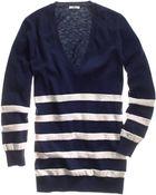Madewell Hillstripe Ex-boyfriend Sweater - Lyst