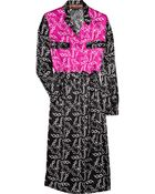 Duro Olowu Printed Silksatin Dress - Lyst