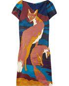 Jill Stuart Adriana Wool-blend Shift Dress - Lyst