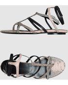 Balenciaga Flat Sandals  - Lyst