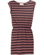 Aubin & Wills Haslemere Striped Cotton-jersey Dress - Lyst