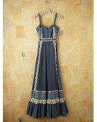 Free People Vintage Gunne Sax Tank Dress - Lyst
