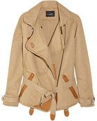 Isabel Marant Jane Cotton and Linenblend Jacket - Lyst