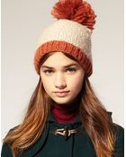 ASOS Collection Asos Oversized Bobble Hat - Lyst