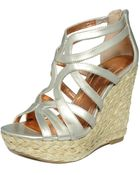 BCBGeneration Makala Wedge Sandals - Lyst