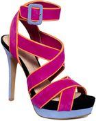 Jessica Simpson Evangela Platform Sandals - Lyst