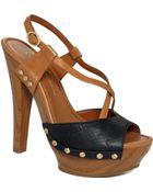 Jessica Simpson Laisha Platform Sandals - Lyst