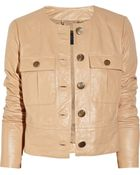 J.Crew Lumini Leather Jacket - Lyst