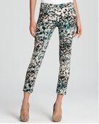 DKNY Parker Printed Skinny Pants - Lyst